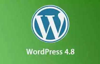 6月8日,WordPress 4.8如约而至